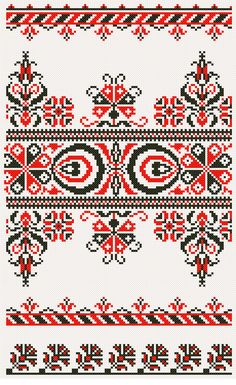 Hungarian Embroidery... http://pinterest.com/s_erika/hungarian-embroidery-motifs/