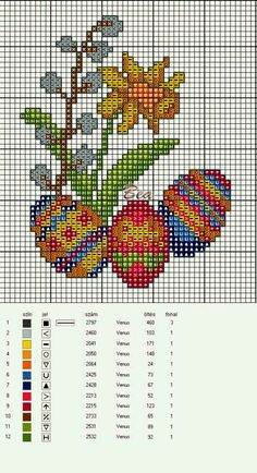 ♥ Моя точка Графики Крус ♥: Пасха