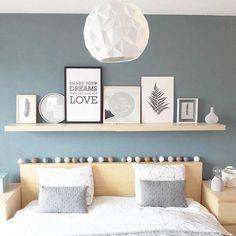 Making A Bed Frame, Diy Bed Frame, Bedroom Colour Palette, Bedroom Colors, Small Room Bedroom, Home Decor Bedroom, Light Green Walls, Parents Room, Bed Design