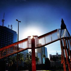 Foguete do Parque da Cidade. #meupretéritomaisqueperfeito