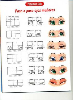 Disegni e Modelli da stampare: Occhi per Le Bambole
