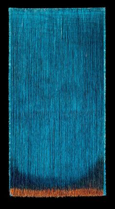 Olga de Amaral - contemporary columbian artist working in textiles