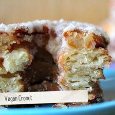 Vegan Cronuts(croissant + donuts = Cronut)