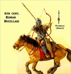 ate Roman/Early Byzantine Bucellarii. Belisarius' elite bodyguard would have looked very similar to this figure