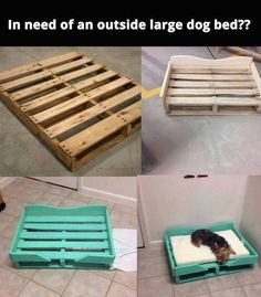Print Art Make a dog bed out of wood pallets!Make a dog bed out of wood pallets! Palette Dog Bed, Paw Print Art, Pallet Dog Beds, Diy Pallet, Dog Bed From Pallets, Pallet Dog House, Outside Dogs, Diy Dog Bed, Wood Dog Bed