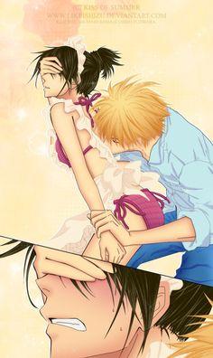 Kaichou wa maid sama - Usui and Misaki. Totally perfect if maid sama was a smut anime. Manga Love, I Love Anime, Kawaii, Usui Takumi, Misaki, Mega Anime, Smut Anime, Dramas, Animes On