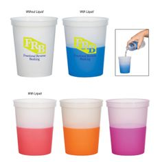 #5925 - 16 Oz. Color Changing Stadium Cup