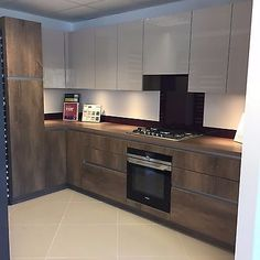 German Handless Ex Display Kitchen