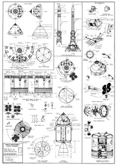 Apollo Technical Drawing.