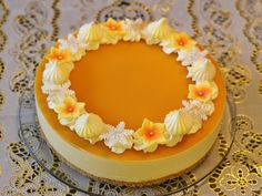 Cheesecake Decoration, Mousse, Cake Decorating Frosting, Dessert Recipes, Desserts, Cheesecakes, Yummy Cakes, Food Pictures, Sweet Recipes