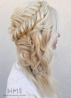 Dreamy Wedding Hairstyles from HMS - MODwedding