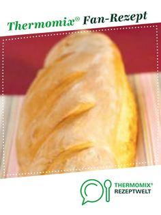 Baguette auf die Schnelle von Thermomix Rezeptentwicklung. Ein Thermomix ® Rezept aus der Kategorie Brot & Brötchen auf www.rezeptwelt.de, der Thermomix ® Community.