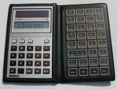 casio calculator vintage - Buscar con Google