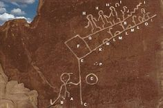 The Hopi Prophecies and A Blue Star Kachina - Ancient Technology Ancient Aliens, Ancient History, Hopi Prophecy, Alien Painting, Hopi Indians, Fractal, Ancient Mysteries, Ancient Artifacts, Rock Art