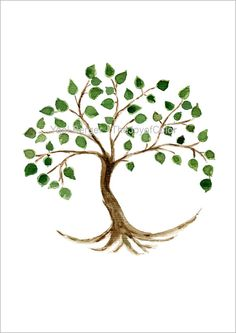 Tree of life art print tree painting Tree of life by TheJoyofColor