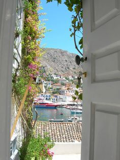 Ok, ready to go back now-- Hydra, Greece
