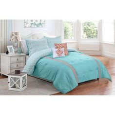 Better Homes and Gardens 5-Piece Sophie Bedding Comforter Set - Walmart.com