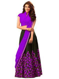 @ Mirraw, shop now and grab discounts. Ghagra Choli, Lehenga Choli Online, Cotton Lehenga, Indian Outfits, Shop Now, Elegant, Stuff To Buy, Color, Shopping