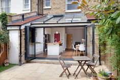 Planning a kitchen extension? We'll take you from A to Z Kelly and Darren have updated an existing extension to create a bright and airy kitchen-diner Kitchen Extension, Home, Kitchen Diner, Open Plan Kitchen, New Homes, House, London Kitchen, Garden Room Extensions, Family Kitchen