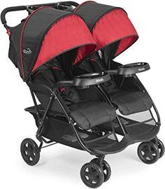 If you and your family are constantly on the go, this Kolcraft Cloud Lightweight Stroller is the perfect product for you! Take baby on the ride of her life with your new Kolcraft Cloud Lightweight Stroller! Best Double Stroller, Twin Strollers, Double Strollers, Tandem, Umbrella Stroller, Pram Stroller, Jogging Stroller, Baby Jogger, Vestidos