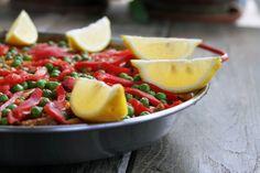 Chicken Pork & Chorizo Paella | mylifeasamrs.com