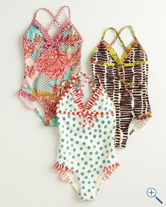 One piece bathing suits! Cute Girl Outfits, Cute Outfits For Kids, Cute Girls, Kids Bathing Suits, Modest Swimsuits, Toddler Swimsuits, Halter One Piece Swimsuit, Kid Styles, Sewing For Kids