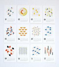 2014 Cal Dozi Shapes in Calendar/Geometric Creative Calendar, Kids Calendar, 2021 Calendar, Web Design, Shape Design, Layout Design, Book Design, Cover Design, Graphic Design Magazine