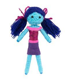 panenka z vlny - návod / doll made from wool DIY Diy And Crafts, Dolls, Christmas Ornaments, Holiday Decor, Outdoor Decor, Handmade, Free Crochet, Crochet Pattern, Design