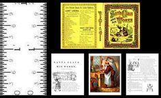 1:12 SCALE MINIATURE GOLDEN BOOK RUDOLPH DOLLHOUSE