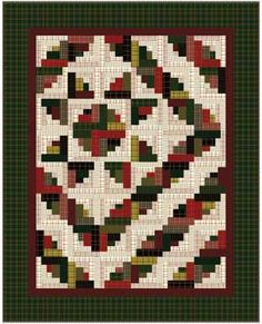 """Holiday Flannel"" (from Keepsake Quilting)"
