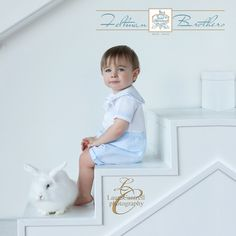 We are smitten with this boy in his Feltman Brothers white & blue sailor short set! This 2-piece outfit is a classic! It's one you will love on your little boy! Available in Sizes 3m-24m! Beautiful portrait by Laura Cantrell. http://www.feltmanbrothers.com/white-and-blue-sailor-short-set/