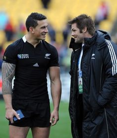 1. Wyatt Crockett (35) 2. Dane Coles (26) 3. Owen Franks (66) 4. Brodie Retallick (35) 5. Samuel Whitelock (61) 6. Jerome Kaino (55) 7. Richie McCaw - captain (136) 8. Kieran Read (71) 9. Aaron Smith (37) 10. Beauden Barrett (27)  11. Julian Savea (32) 12. Sonny Bill Williams (22) 13. Conrad Smith (84) 14. Charles Piutau (13) 15. Ben Smith (37)