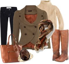"""""""Fall Work Wear"""" by stylesbyjoey on Polyvore"""