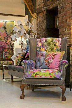 Sofa fabric upholstery Patchwork furniture Patchwork chair Sofa upholstery Funky chairs Chair upholstery - Herman Miller Aeron Chair Size B StuffedChairsFurniture Referral 9272205867 - Funky Furniture, Recycled Furniture, Unique Furniture, Home Decor Furniture, Furniture Makeover, Painted Furniture, Luxury Furniture, Funky Chairs, Style Deco