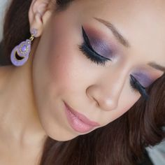 Purple Smokey eye by IG'er: justjasmine featuring her Missy Lynn Palette.