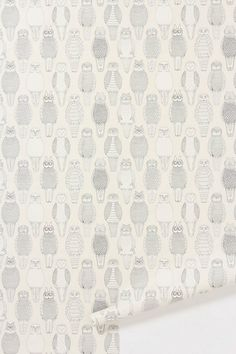 Owls Of The British Isles Wallpaper - Anthropologie