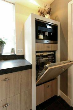 Trendy kitchen floor black and white style ideas Kitchen Interior, New Kitchen, Kitchen Dining, Kitchen Decor, Kitchen Cabinets, Kitchen Wood, Micro Kitchen, Ikea Dining, Kitchen White