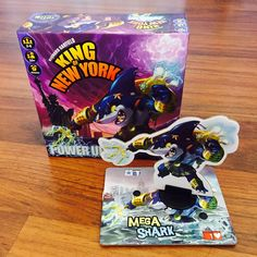 IELLO Games King of New York: Power Up! Giveaway! Ends August 24, 2016.