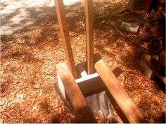 Building a no-tools-needed firewood rack  A stable, strong, easily-movable, cheap firewood rack is a thought-provoking project.  This is what i have u...
