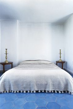 Most rooms  at Auberge Tangaro, feature little more than a bed, a table and a couple of chairs.