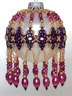 Diamond Duo Ornament Cover Pattern