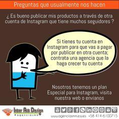 Es ilógico publicar en un instagram de otro.  #agenciasmm #maracaibo #medellin #bogota #aumentarventas #latinoamerica #redessociales