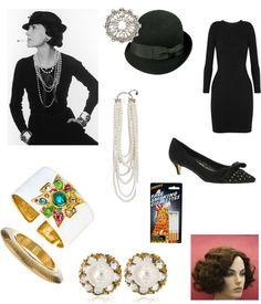 Coco Chanel Costume- Fashion Icon Halloween Costumes