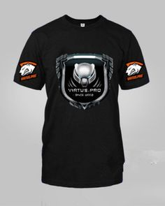 Virtus.Pro t shirt cool CS GO and DOTA 2 team t shirt for youth-