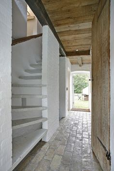 The Thatched Cottage, Denmark. The house is full of light.  All materials used are healthy and ecological, including many reused and natural materials  http://www.organicholidays.co.uk/at/3419.htm