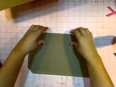 Paperbag Album - MATCHBOOK STYLE Part 1 by@Kathy Orta