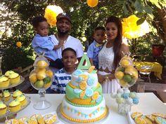 Lemonade stand birthday party