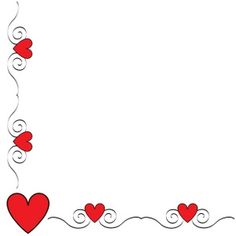 Valentine Border Clip Art | Hearts Clip Art Images Hearts Stock Photos & Clipart Hearts Pictures