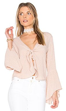 New FLYNN SKYE Knot Your Business Top online. Find great deals on h:ours womens-clothing from top clothing store. New Fashion, Girl Fashion, Top Clothing Stores, Beige, Revolve Clothing, Pink Tops, Cute Outfits, Knot, Clothes For Women
