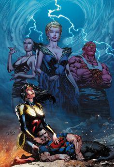 DC Comics January 2016 Solicits - Part 2: SUPERMAN, WONDER WOMAN, More | Newsarama.com